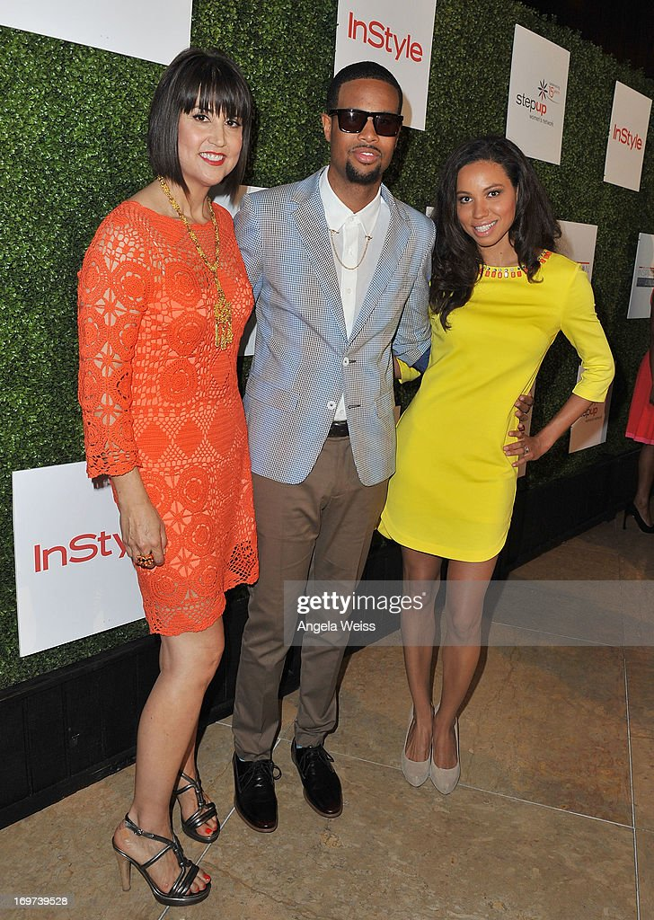 Designer Trina Turk, singer Josiah Bell and actress <a gi-track='captionPersonalityLinkClicked' href=/galleries/search?phrase=Jurnee+Smollett&family=editorial&specificpeople=614220 ng-click='$event.stopPropagation()'>Jurnee Smollett</a> attend Step Up Women's Network 10th annual Inspiration Awards at The Beverly Hilton Hotel on May 31, 2013 in Beverly Hills, California.