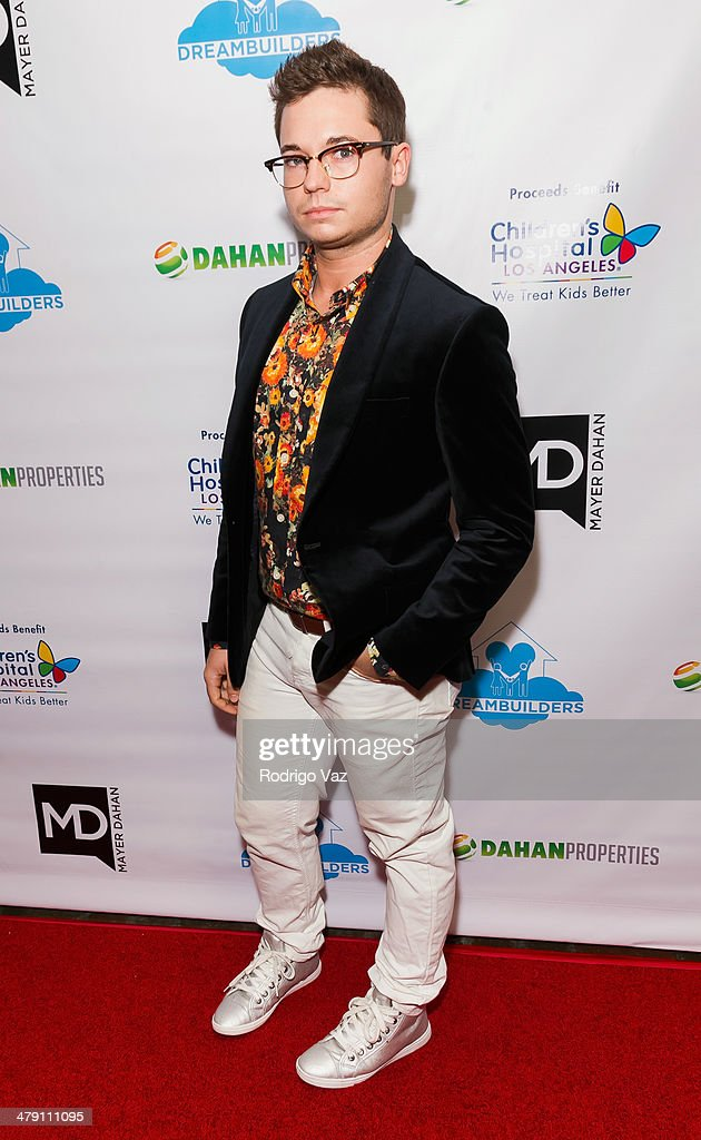 Designer Tyler Yoder attends The Dream Builders Project 'A Brighter Future For Children' at H.O.M.E. on March 15, 2014 in Beverly Hills, California.