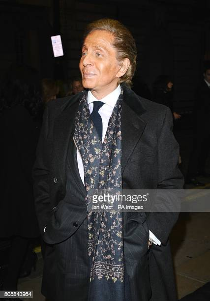 Designer Valentino Garavani arriving for the premiere of A Single Man at the Curzon Mayfair London
