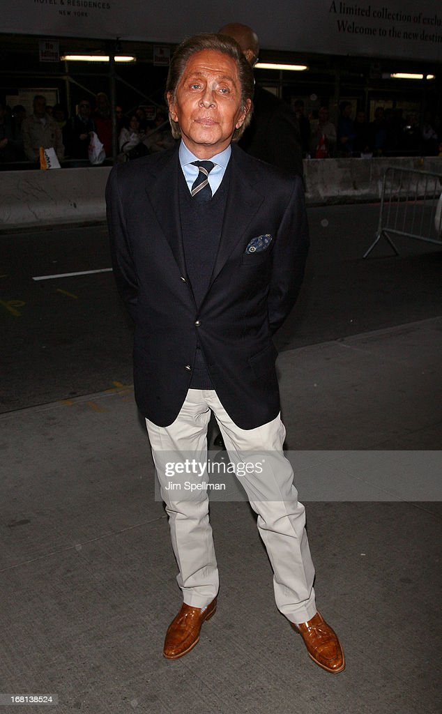Designer Valentino Garavani attends 'The Great Gatsby' Special Screening at Museum of Modern Art on May 5, 2013 in New York City.