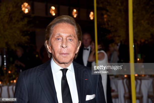 Designer Valentino Garavani attends the New York City Ballet 2017 Spring Gala at David H Koch Theater Lincoln Center on May 4 2017 in New York City