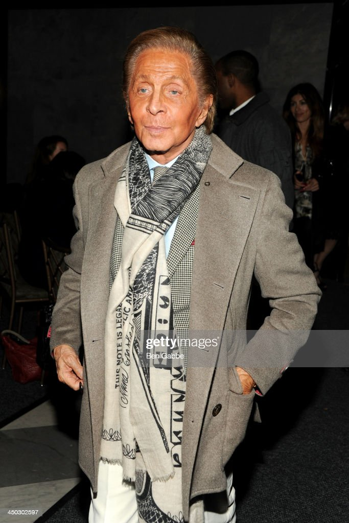 Designer Valentino Giammetti attends DreamWorks Pictures & The Cinema Society host a screening of 'Delivery Man' at the Paley Center For Media on November 17, 2013 in New York City.