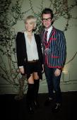 Designer Vanessa Bruno and Brad Goreski attend Vanessa Bruno Celebrates One Year Anniversary In Los Angelesat Lucques Restaurant on November 9 2011...