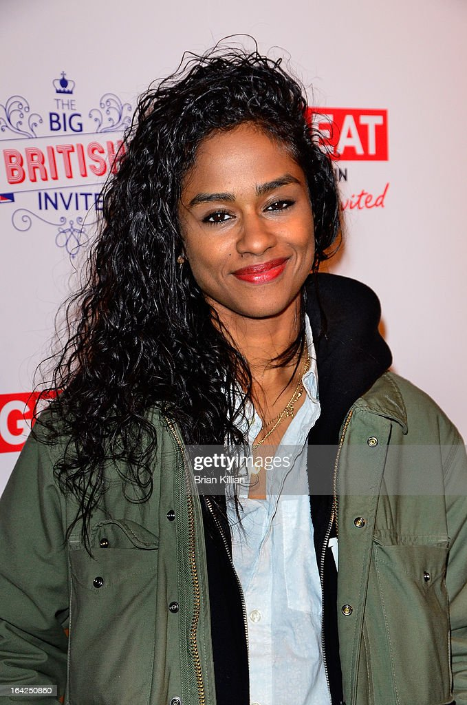 Designer <a gi-track='captionPersonalityLinkClicked' href=/galleries/search?phrase=Vashtie+Kola&family=editorial&specificpeople=5834592 ng-click='$event.stopPropagation()'>Vashtie Kola</a>, aka Va$htie, attends The Big British Invite launch at 78 Mercer Street on March 21, 2013 in New York City.