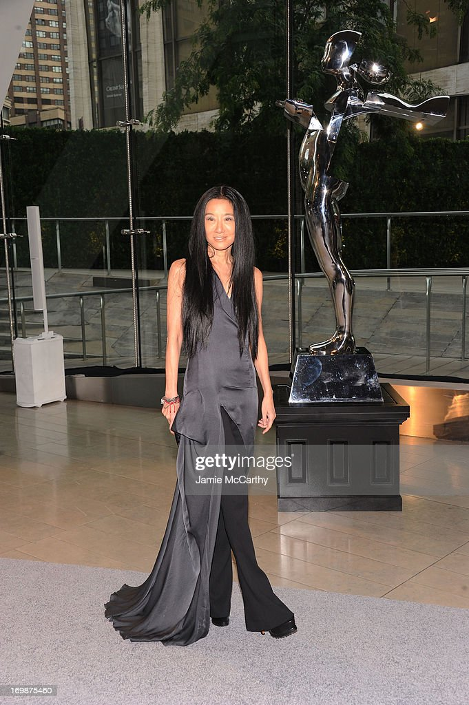 Designer Vera Wang attends 2013 CFDA FASHION AWARDS Underwritten By Swarovski - Red Carpet Arrivals at Lincoln Center on June 3, 2013 in New York City.