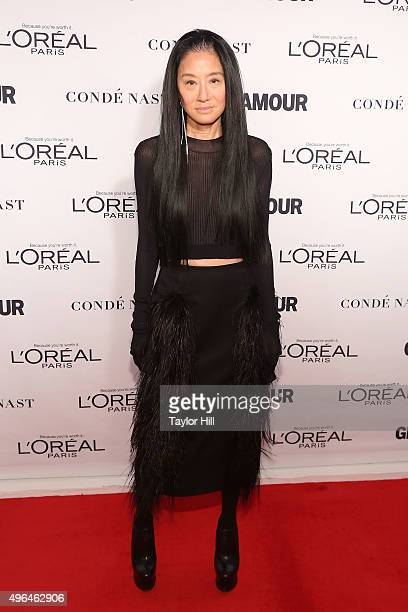 Designer Vera Wang attends Glamour's 25th Anniversary Women Of The Year Awards at Carnegie Hall on November 9 2015 in New York City