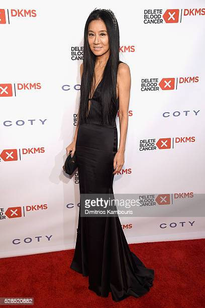 Designer Vera Wang attends the 10th Annual Delete Blood Cancer DKMS Gala at Cipriani Wall Street on May 5 2016 in New York City