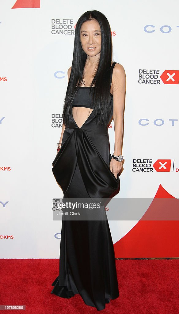 Designer Vera Wang attends the 2013 Delete Blood Cancer Gala at Cipriani Wall Street on May 1, 2013 in New York City.