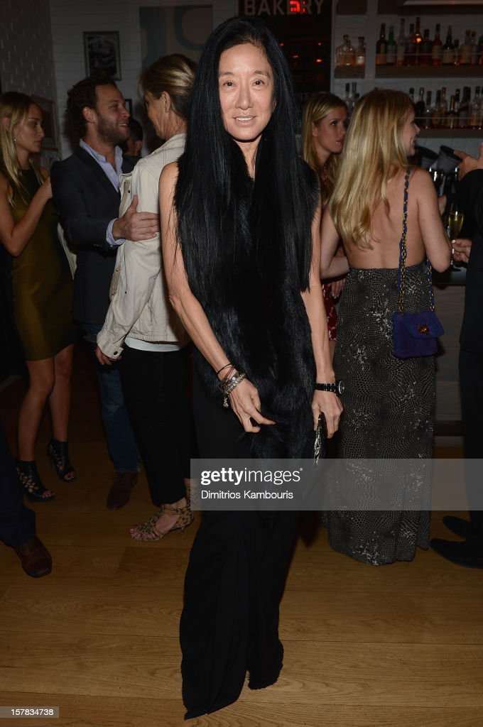 Designer Vera Wang attends the Aby Rosen & Samantha Boardman dinner at The Dutch on December 6, 2012 in Miami, Florida.