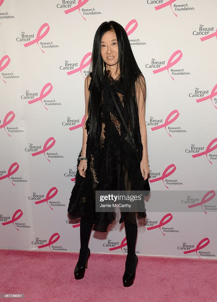 Designer Vera Wang attends The Breast Cancer Foundation's 2014 Hot Pink Party at Waldorf Astoria Hotel on April 28, 2014 in New York City.