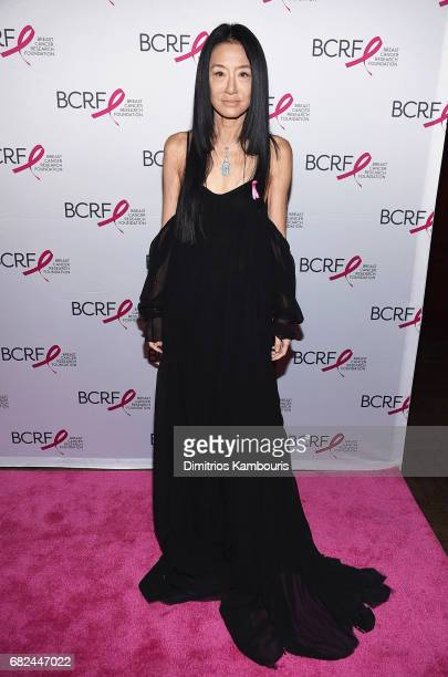 Designer Vera Wang attends The Breast Cancer Research Foundation's 2017 Hot Pink Party at the Park Avenue Armory on May 12 2017 in New York City