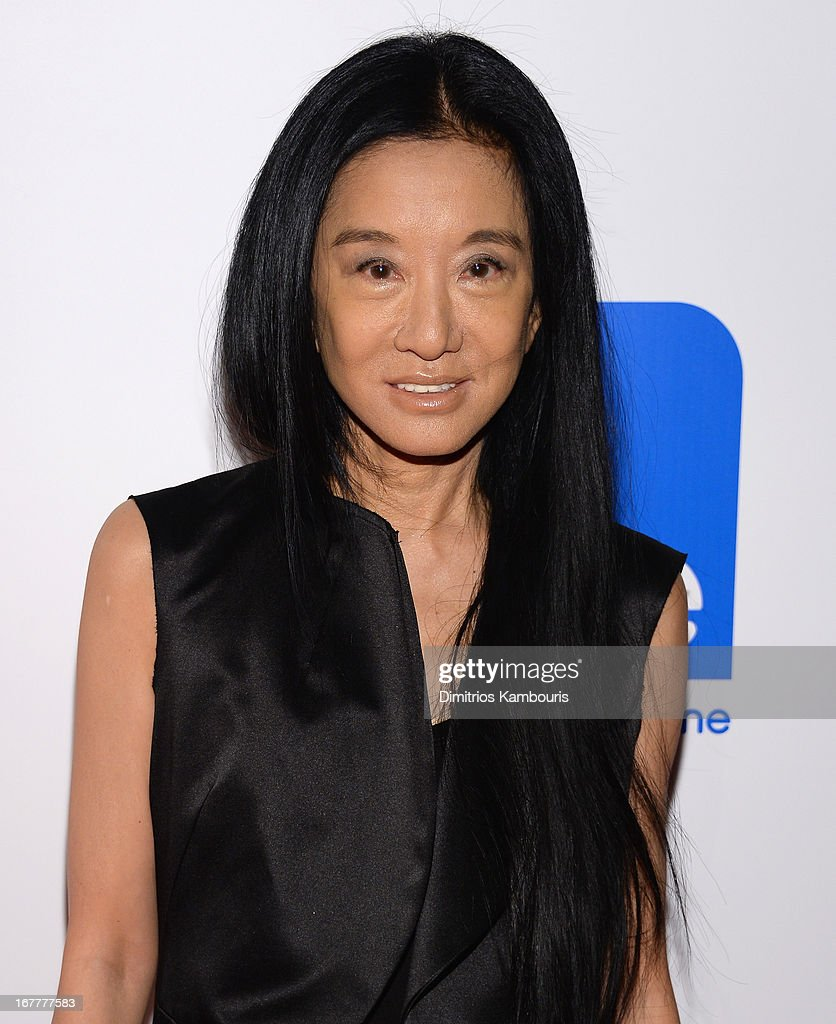Designer Vera Wang attends the Cinema Society with Swarovski & Grey Goose premiere of eOne Entertainment's 'Scatter My Ashes At Bergdorf's' at Florence Gould Hall on April 29, 2013 in New York City.