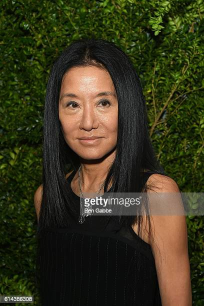 Designer Vera Wang attends the 'Franca Chaos and Creation' New York Screening at Metrograph on October 13 2016 in New York City