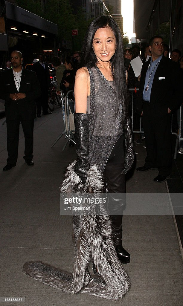 Designer Vera Wang attends 'The Great Gatsby' Special Screening at Museum of Modern Art on May 5, 2013 in New York City.