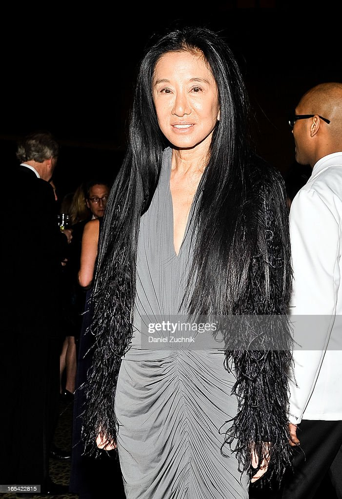 Designer Vera Wang attends the Lenox Hill Neighborhood House Spring Gala Benefit at Cipriani 42nd Street on April 3, 2013 in New York City.