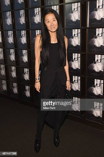 Designer Vera Wang attends the 'Patrick Demarchelier' special exhibition preview to celebrate NYFW The Shows for Spring 2016 at Christie's on...