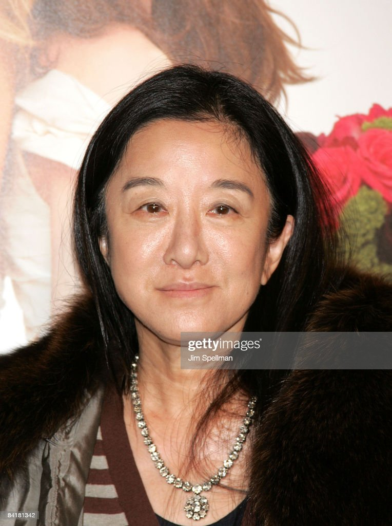 Designer Vera Wang attends the premiere of 'Bride Wars' at the AMC Loews Lincoln Square on January 5, 2009 in New York City.