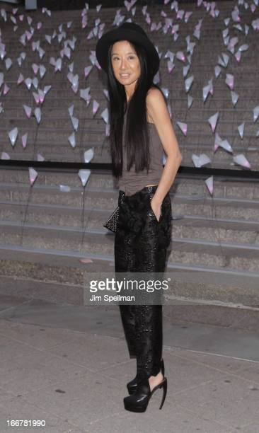 Designer Vera Wang attends the Vanity Fair Party during the 2013 Tribeca Film Festival at the State Supreme Courthouse on April 16 2013 in New York...