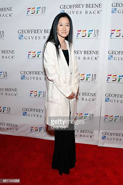 Designer Vera Wang attends the YMA Fashion Scholarship Fund Geoffrey Beene National Scholarship Awards Dinner at The Waldorf Astoria on January 7...