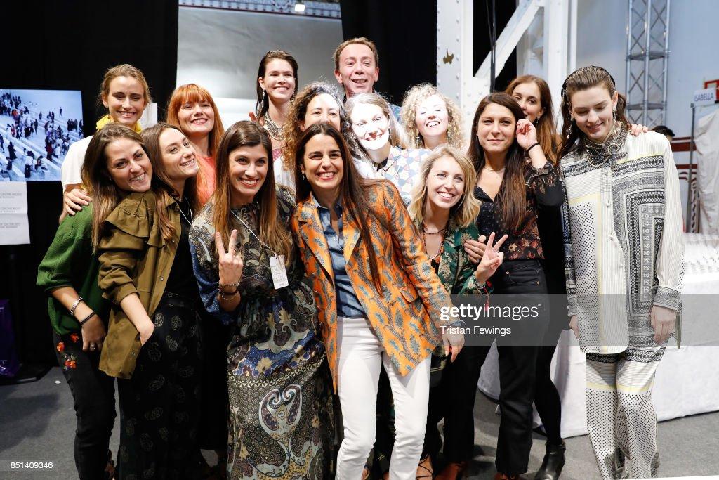 Etro - Backstage - Milan Fashion Week Spring/Summer 2018