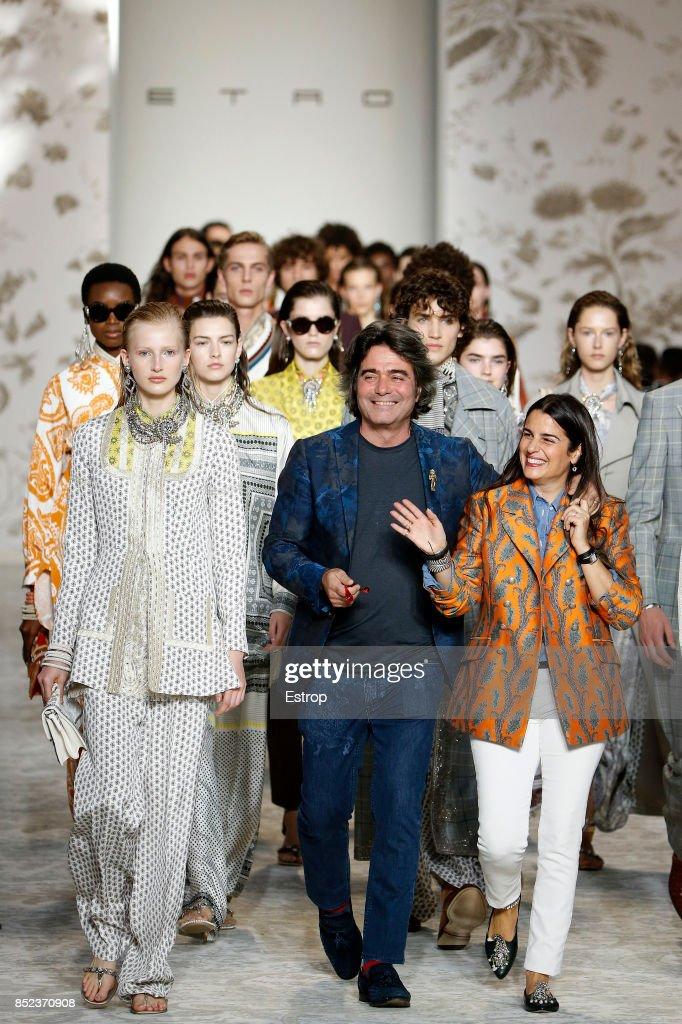 Etro - Runway - Milan Fashion Week Spring/Summer 2018
