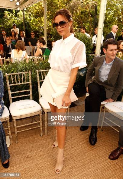 Designer Victoria Beckham attends CFDA/Vogue Fashion Fund Event hosted by Lisa Love and Mark Holgate and sponsored by Audi Beautycom American Express...