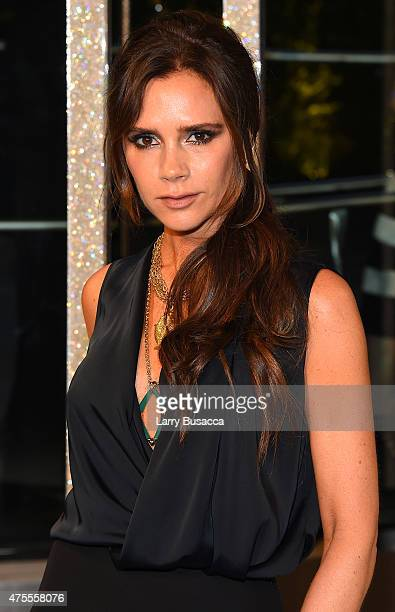Designer Victoria Beckham attends the 2015 CFDA Fashion Awards at Alice Tully Hall at Lincoln Center on June 1 2015 in New York City