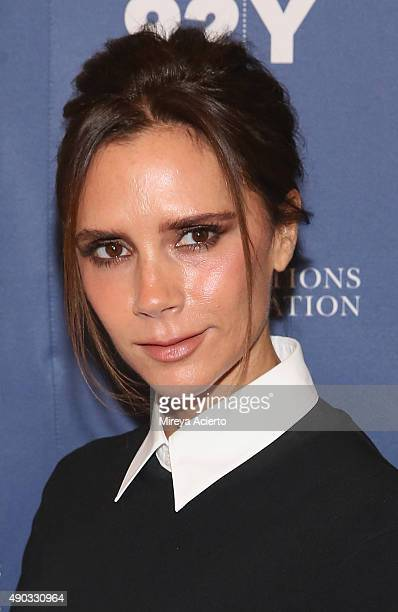 Designer Victoria Beckham attends the 2015 Social Good Summit at 92Y on September 27 2015 in New York City