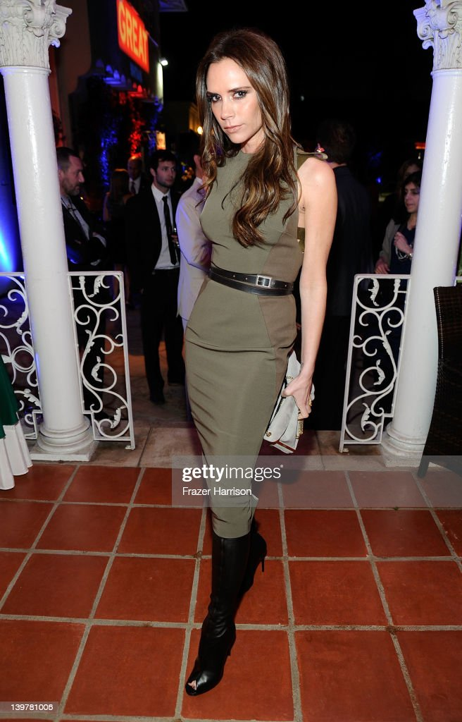 Designer Victoria Beckham attends the GREAT British Film Reception to honor the British nominees of The 84th Annual Academy Awards at the British Consul General's Residence on February 24, 2012 in Los Angeles, California.