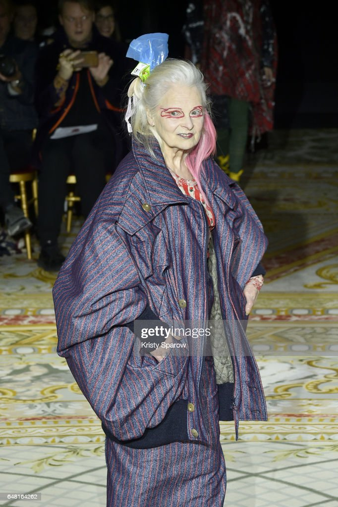 Vivienne Westwood: Runway - Paris Fashion Week Womenswear Fall/Winter 2017/2018
