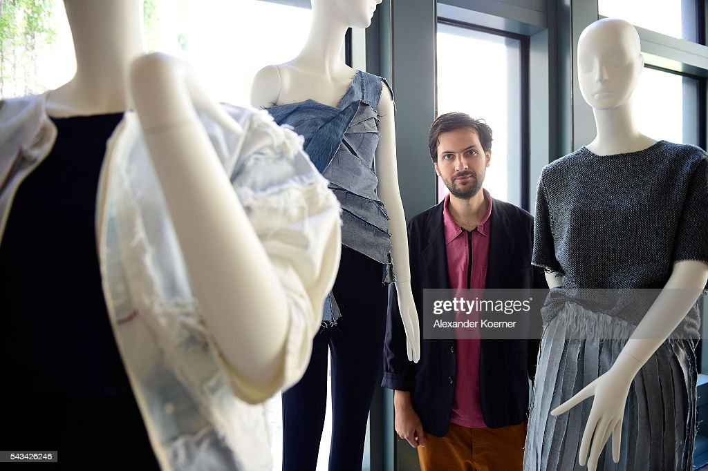 Designer Vladimir Karaleev the Sustainability & Style event at the Embassy of The United States of America on June 28, 2016 in Berlin, Germany.