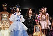 Wanda Beauchamp at Los Angeles Fashion Week FW/19...