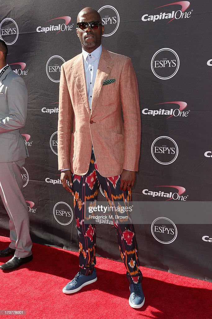 Designer Waraire Boswell attends The 2013 ESPY Awards at Nokia Theatre L.A. Live on July 17, 2013 in Los Angeles, California.