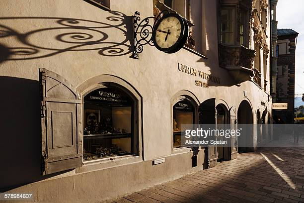 Designer watch boutique in Innsbruck, Austria