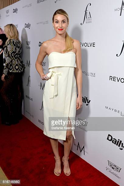 Designer Whitney Port attends The Daily Front Row 'Fashion Los Angeles Awards' 2016 at Sunset Tower Hotel on March 20 2016 in West Hollywood...