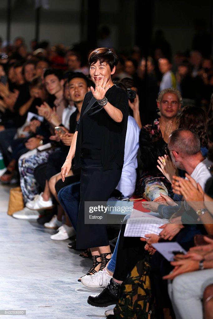 Wooyoungmi : Runway - Paris Fashion Week - Menswear Spring/Summer 2017