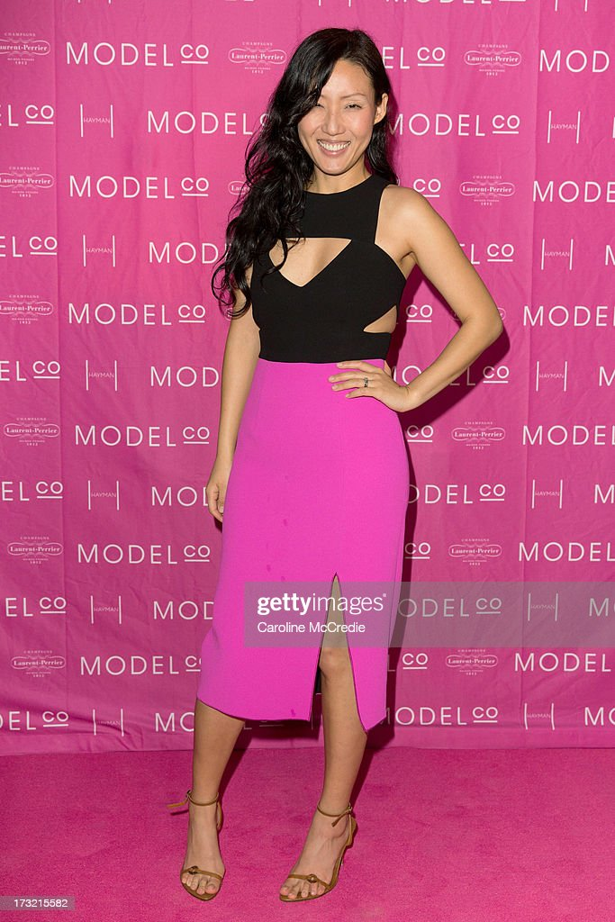 Designer Yeojin Bae arrives at a black tie dinner hosted by ModelCo on Hayman Island in celebration of their new celebrity ambassador signing, Rosie Huntington-Whiteley on July 10, 2013 in Hayman Island, Australia.