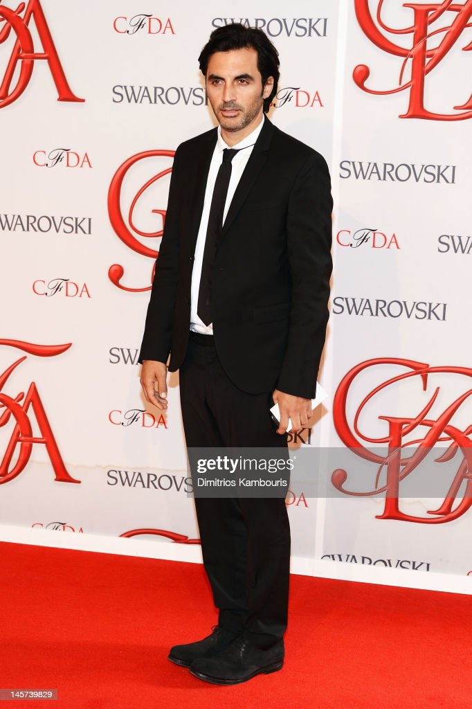 Designer Yigal Azrouel attends the 2012 CFDA Fashion Awards at Alice Tully Hall on June 4, 2012 in New York City.