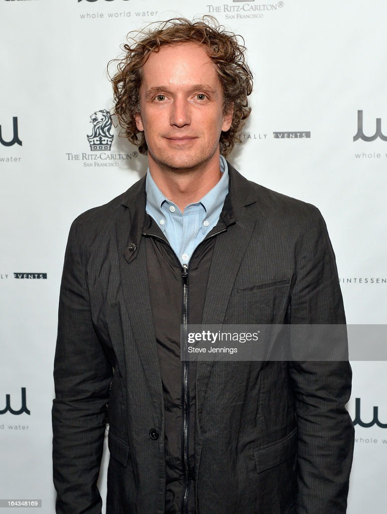 Designer Yves Behar attends the WHOLE WORLD Water launch event at Parallel 37 at The Ritz-Carlton, San Francisco on March 22, 2013 in San Francisco, California.