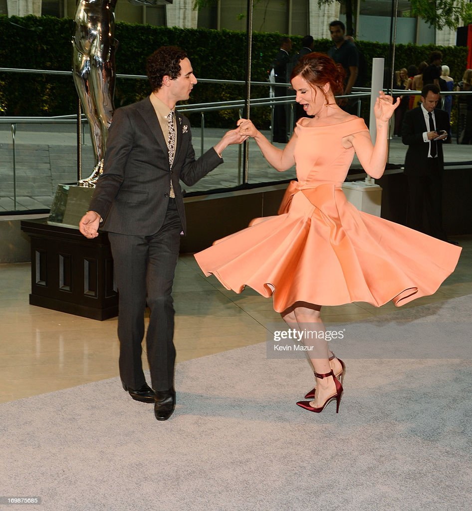 Designer Zac Posen and actress Juliette Lewis attend 2013 CFDA Fashion Awards at Alice Tully Hall on June 3, 2013 in New York City.