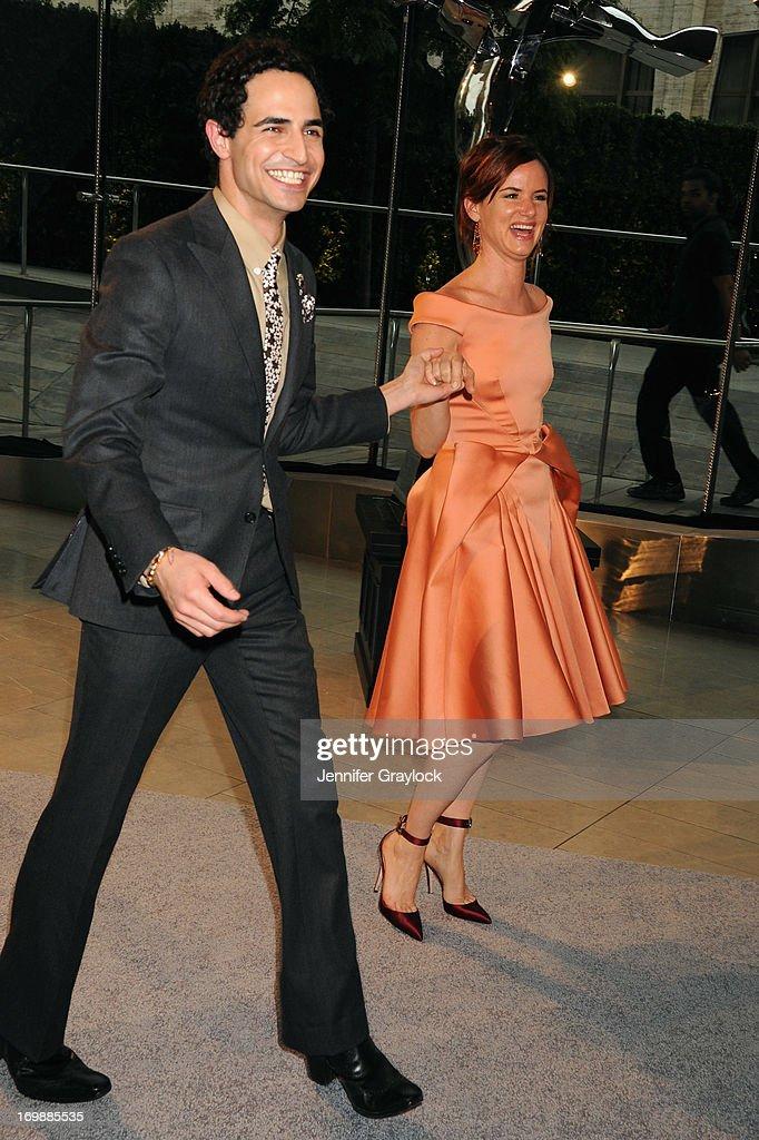 Designer Zac Posen and actress Juliette Lewis attend 2013 CFDA FASHION AWARDS underwritten by Swarovski at Lincoln Center on June 3, 2013 in New York City.