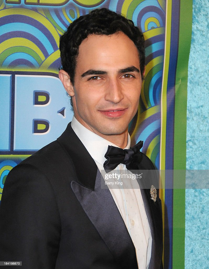 Designer Zac Posen arrives at HBO's Annual Primetime Emmy Awards Reception on September 22, 2013 at The Plaza at the Pacific Design Center in West Hollywood, California.