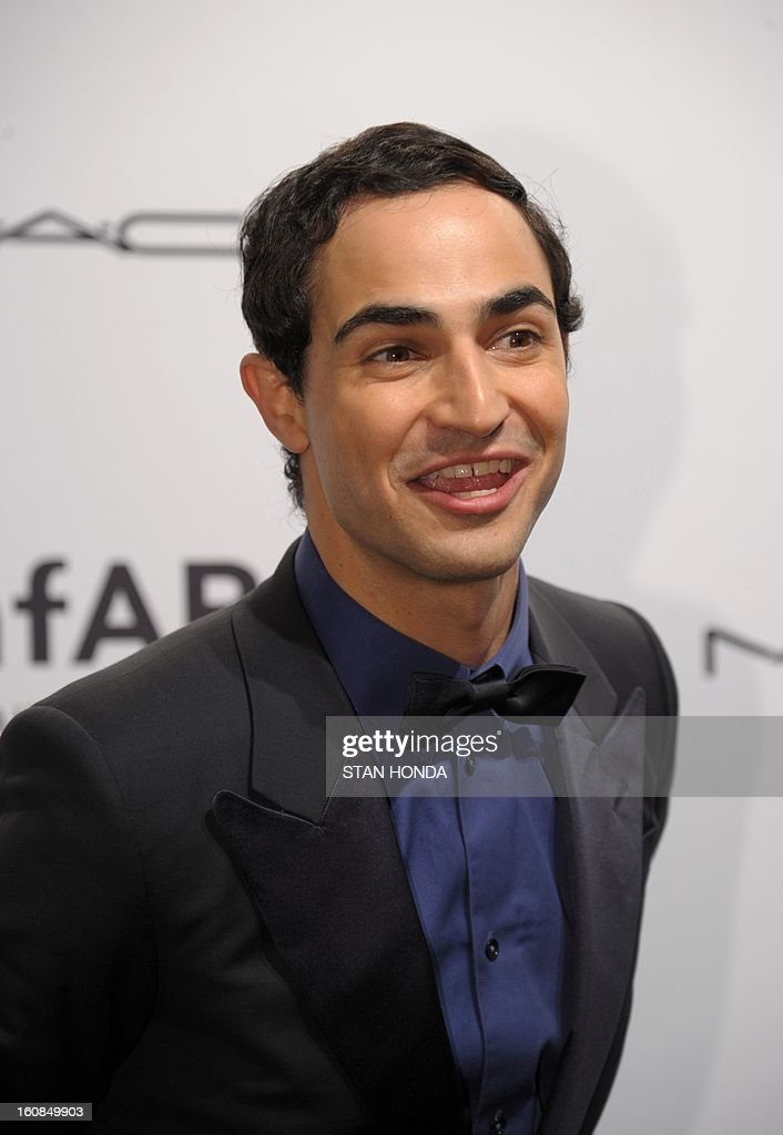 Designer Zac Posen arrives at the amfAR (The Foundation for AIDS Research) gala that kicks off the Mercedes-Benz Fashion Week February 6, 2013 in New York. AFP PHOTO/Stan HONDA