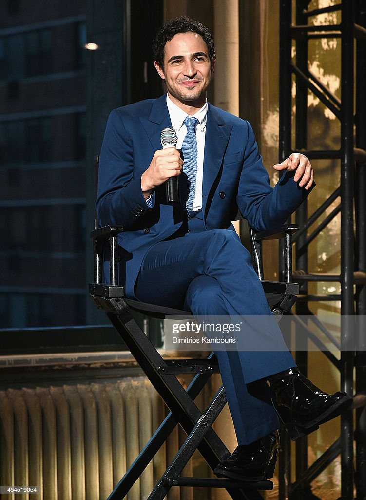 Designer <a gi-track='captionPersonalityLinkClicked' href=/galleries/search?phrase=Zac+Posen+-+Fashion+Designer&family=editorial&specificpeople=4442066 ng-click='$event.stopPropagation()'>Zac Posen</a> attends AOL's Build Speaker Series Presents: <a gi-track='captionPersonalityLinkClicked' href=/galleries/search?phrase=Zac+Posen+-+Fashion+Designer&family=editorial&specificpeople=4442066 ng-click='$event.stopPropagation()'>Zac Posen</a> at AOL Studios In New York on September 2, 2014 in New York City.