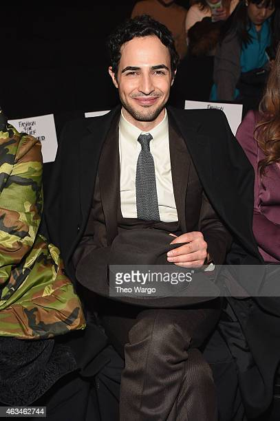 Designer Zac Posen attends Naomi Campbell's Fashion For Relief Charity Fashion Show during MercedesBenz Fashion Week Fall 2015 at The Theatre at...