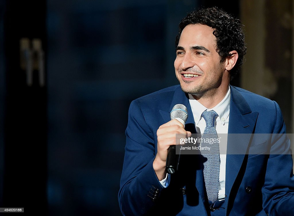 Designer <a gi-track='captionPersonalityLinkClicked' href=/galleries/search?phrase=Zac+Posen+-+Fashion+Designer&family=editorial&specificpeople=4442066 ng-click='$event.stopPropagation()'>Zac Posen</a> attends the AOL's Build Speaker Series at AOL Studios In New York on September 2, 2014 in New York City.