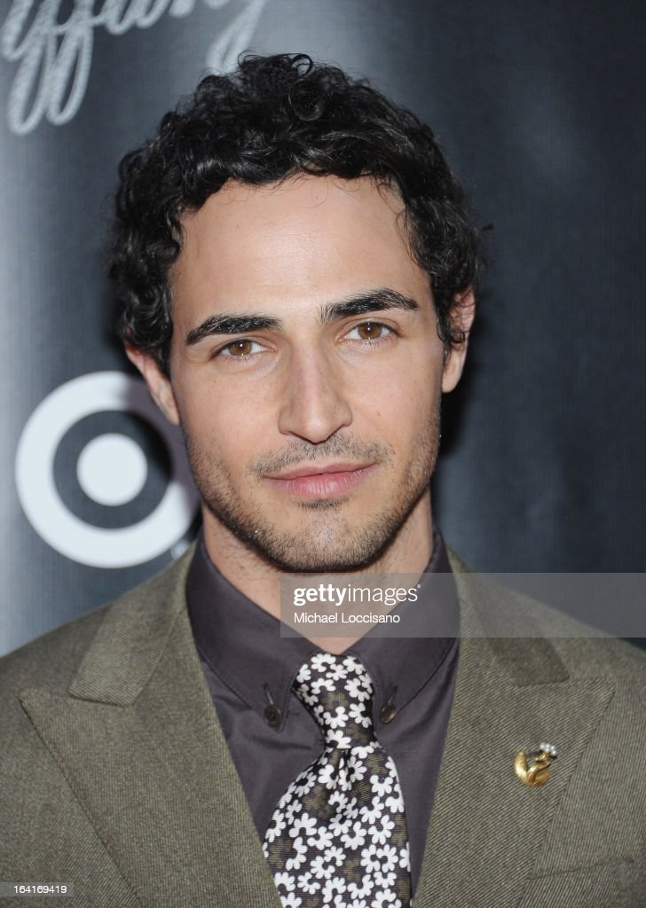 Designer Zac Posen attends the 'Breakfast At Tiffany's' Broadway Opening Night at Cort Theatre on March 20, 2013 in New York City.