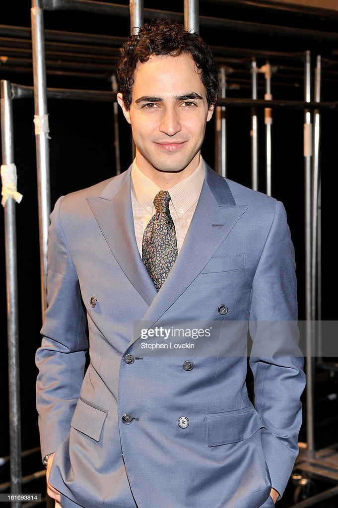 Designer Zac Posen attends The Decoded Fashion Forum & Hackathon Finale Fall 2013 fashion show during Mercedes-Benz Fashion Week at The Stage at Lincoln Center on February 14, 2013 in New York City.