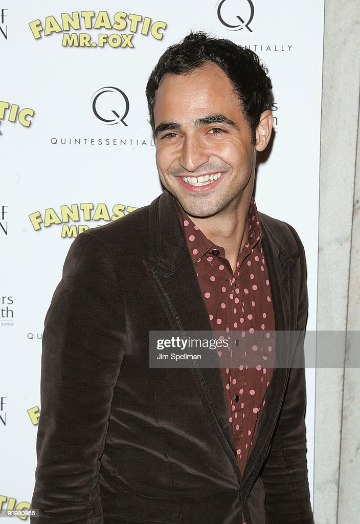 Designer Zac Posen attends the 'Fantastic Mr. Fox' premiere at Bergdorf Goodman on November 10, 2009 in New York City.