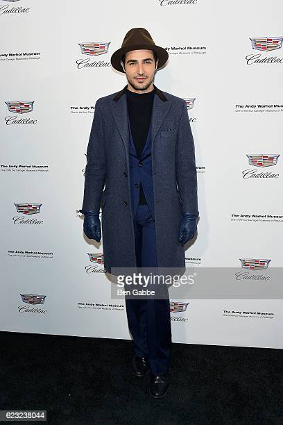 Designer Zac Posen attends the 'Letters To Andy Warhol' Exhibition Opening at Cadillac House on November 14 2016 in New York City